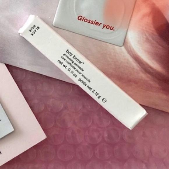 Glossier set: bow brow + you + moisturizer + bag